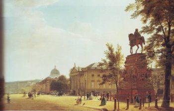 Unter Den Linden | Eduard Gartner | oil painting