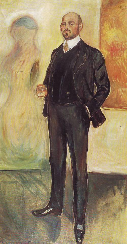 Walter Rathenau | Edvard Munch | oil painting