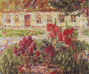 Hunting Lodge At Slsem | Emil Nolde | oil painting