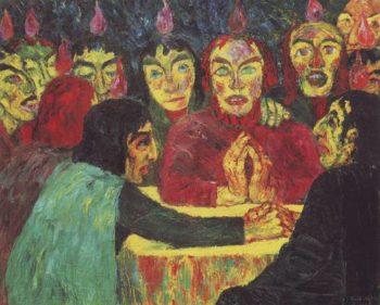 Pentecost | Emil Nolde | oil painting