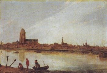 View Of The Zierikzee | Esaias Van De Velde | oil painting