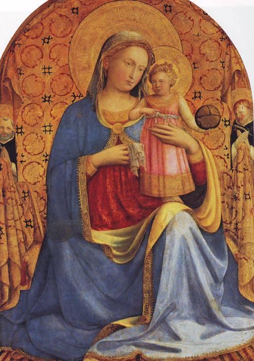 Madonna And Child   Far Giovanni Da Fiesole   oil painting