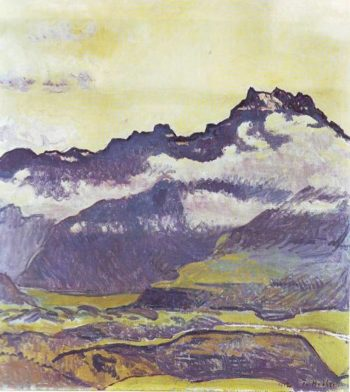 Dents Du Midi | Ferdinand Hodler | oil painting