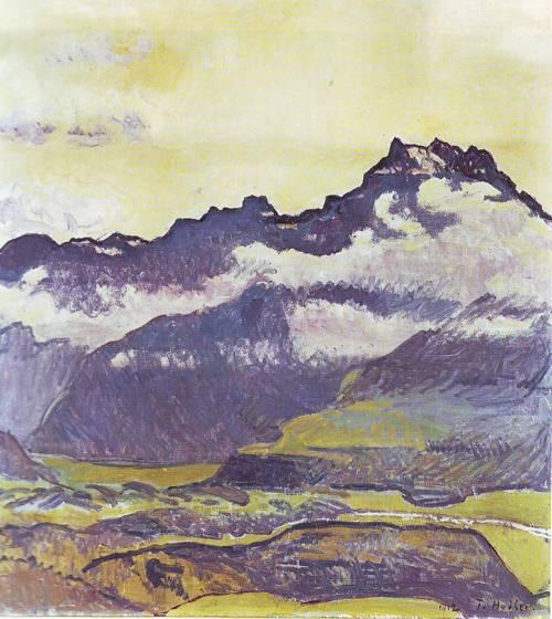 Dents Du Midi | Ferdinand Hodler | oil painting