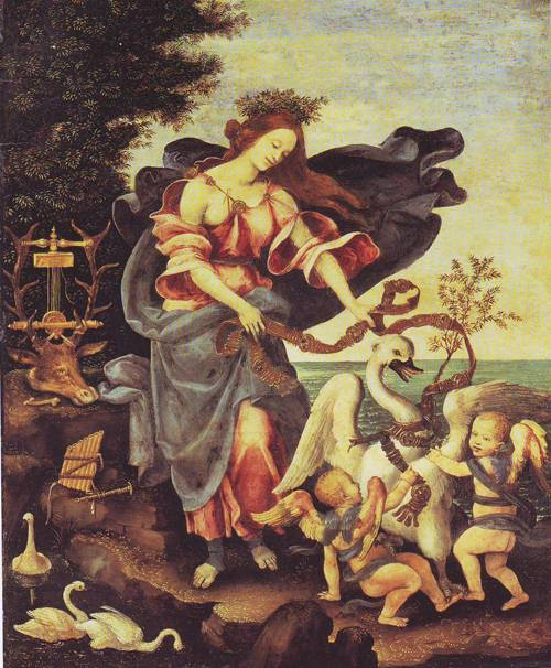 Allegory Of Music | Filippino Lippi | oil painting