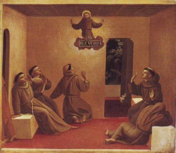 The Apparition At Arles | Fra Angelico | oil painting