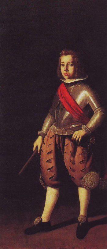 Don Alonso Verdugo De Albornoz   Francisco De Zurbaran   oil painting