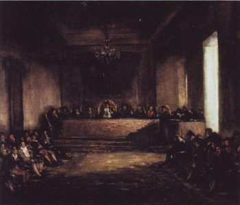 The Philippine Junta | Francisco Jose Goya Y Lucientes | oil painting