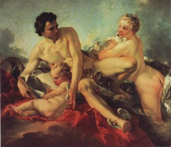 The Education Of Cupid | Francois Boucher | oil painting
