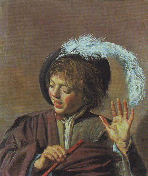 Boy With A Flute | Frans Hals | oil painting