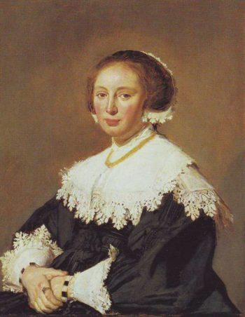 Portrait Of A Womqn | Frans Hals | oil painting