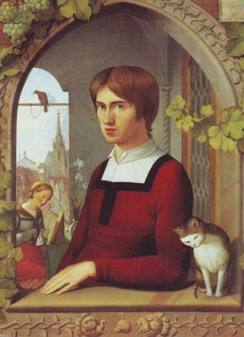 The Painter Franz Pforr | Friedrich Overbeck | oil painting
