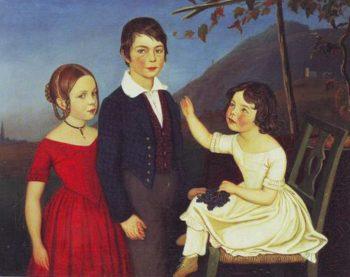 Paul Maria And Filomena Von Putzer | Friedrich Wasmann | oil painting