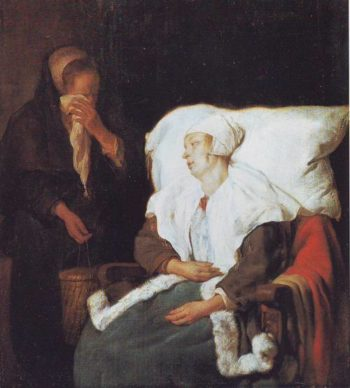 The Sick Girl | Gabriel Metsu | oil painting