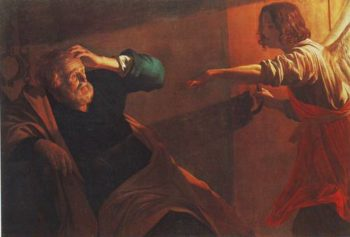 The Liberation Of St.Peter | Gerrit Van Honthorst | oil painting