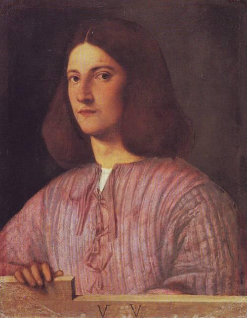 Ayoung Man | Giorgio Da Castelfranco | oil painting