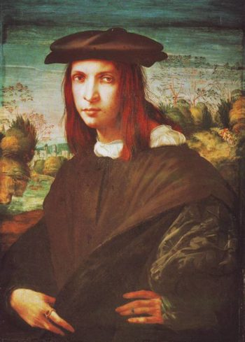 A Young Man | Giovanni Battista Di Jacopo | oil painting