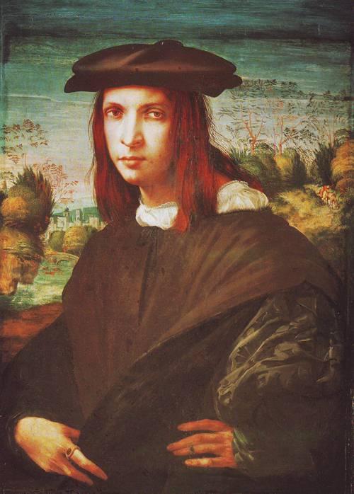 A Young Man | Giovanni Battista Di Jacopo | oil painting
