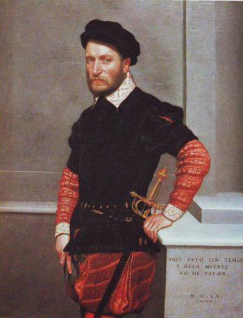 Don Gabriel De La Cueva Count Of Albuquerque | Giovanni Battista Moroni | oil painting