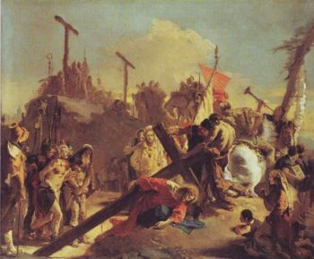 The Bearing Of The Cross | Giovanni Battista Tiepolo | oil painting