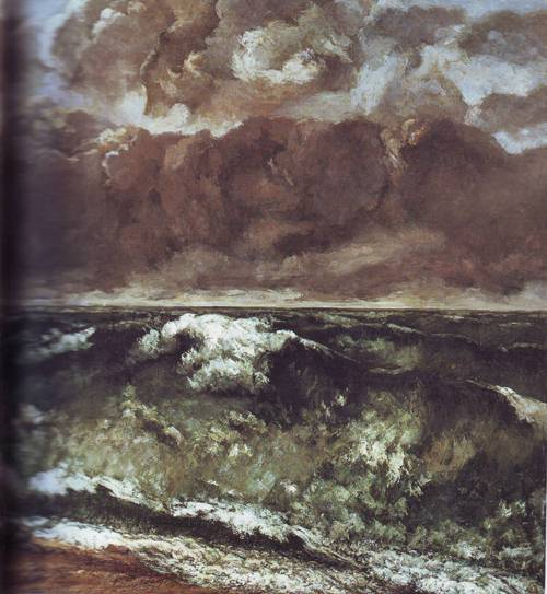 The Wave | Gustave Courbet | oil painting