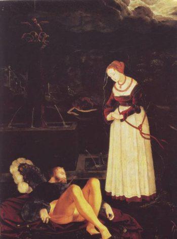 Pyramus And Thisbe | Hans Baldung | oil painting