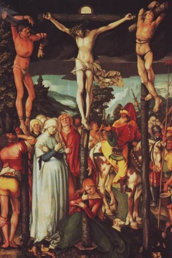 The Crucifixion | Hans Baldung | oil painting