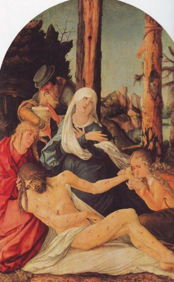 The Lamentation | Hans Baldung | oil painting