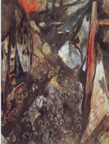 Revolution | Hans Richter | oil painting