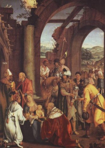 The Adoration Of The Magi   Hans Von Kulmbach   oil painting