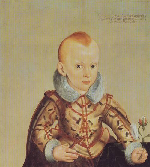 Crown Prince Of Brandenburg Bayreuth | Heinrich Bollandt | oil painting
