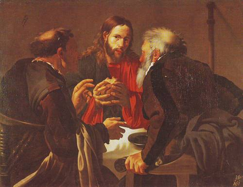 The Supper At Emmaus | Hendrick Terbrugghen | oil painting