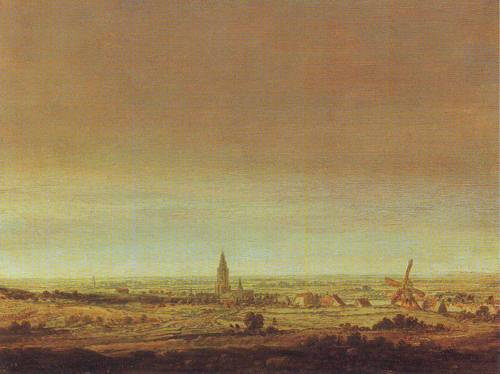 Landscape With City On A River   Hercules Pietersz Seghers   oil painting