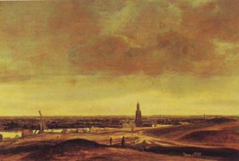 View Of Rhenen | Hercules Pietersz Seghers | oil painting