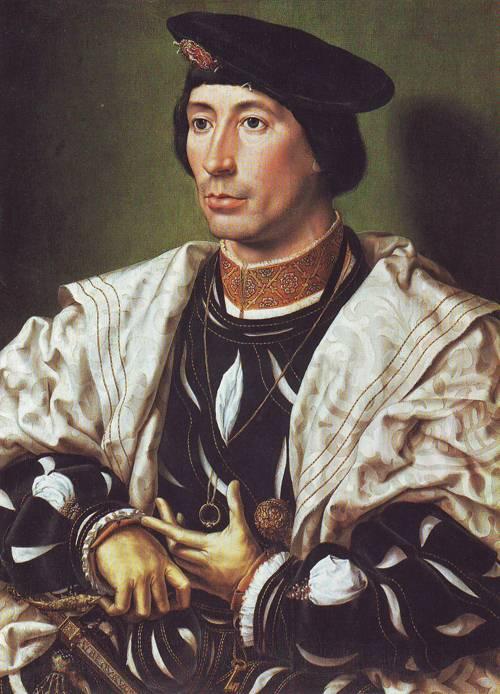 A Nobleman | Jan Gossaert | oil painting