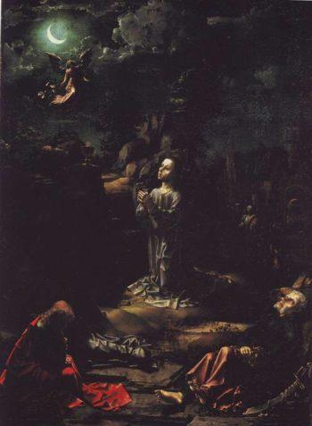 The Agony In The Garden | Jan Gossaert | oil painting
