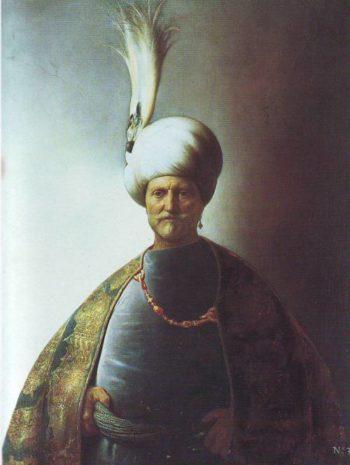 Old Man In Oriental Garb | Jan Lievens | oil painting