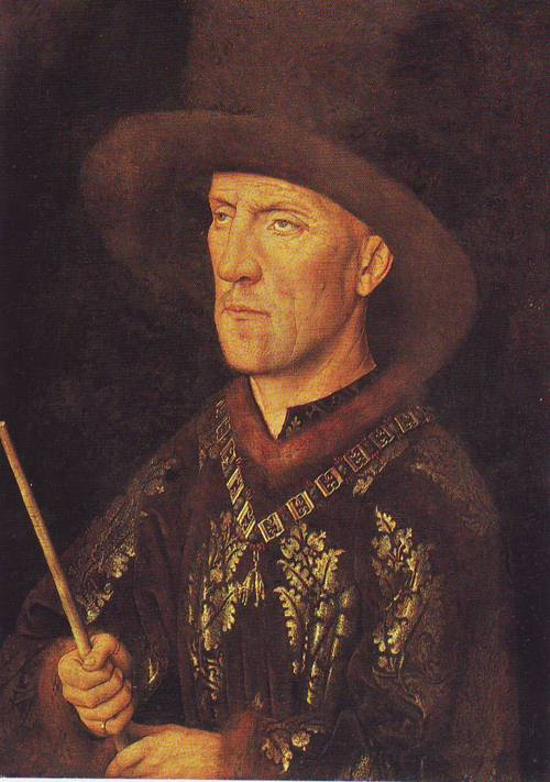 Baudoin De Lannoy   Jan Van Eyck   oil painting