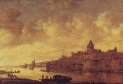 View Of Nijmegen   Jan Van Goyen   oil painting