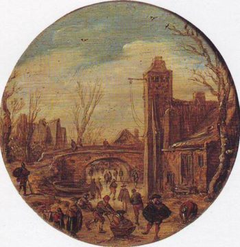 Winter | Jan Van Goyen | oil painting