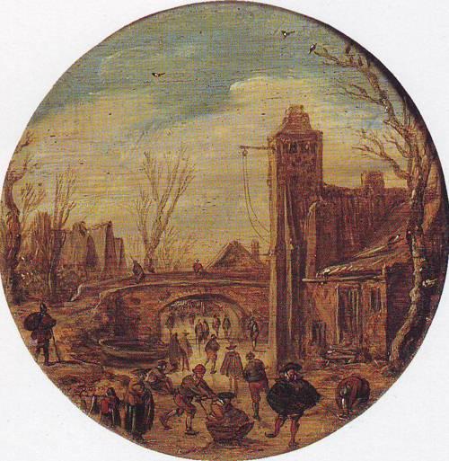 Winter | Jan Van Goyen | oil painting