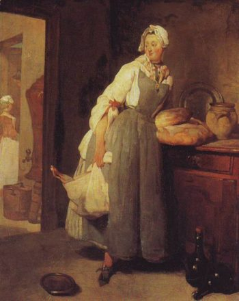 Servant Returning From The Market | Jean-Baptiste-Simeon Chardin | oil painting