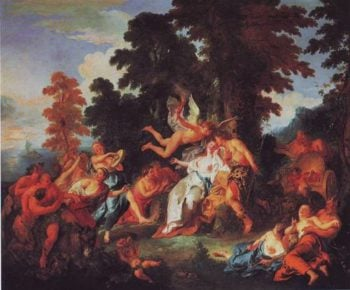Bacchus And Ariadne | Jean-Francois De Troy | oil painting