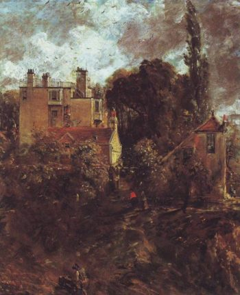 The Admiral's House | John Constable | oil painting