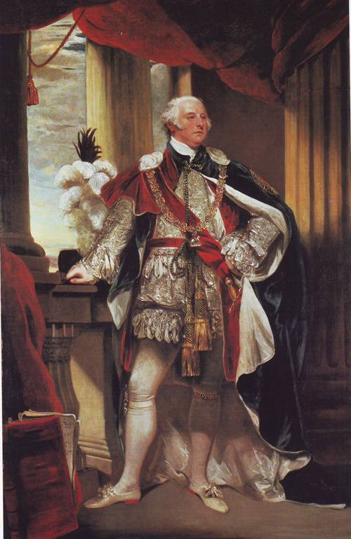 Sir John Jeffreys Pratt Second Earl And First Marquis Of Camden As Knight Of The Order Of The Garter | John Hoppner | oil painting