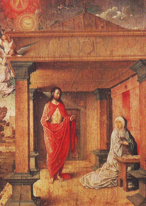 Christ Appearing To His Mother | Juan De Flandes | oil painting