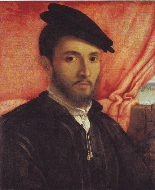 A Young Man | Lorenzo Lotto | oil painting
