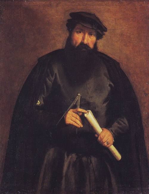 An Architect | Lorenzo Lotto | oil painting