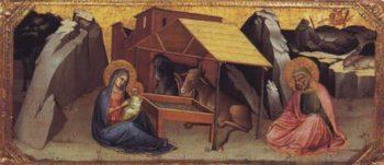 The Nativity | Lorenzo Monaco | oil painting