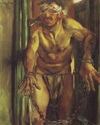 Samson Blinded | Lovis Corinth | oil painting